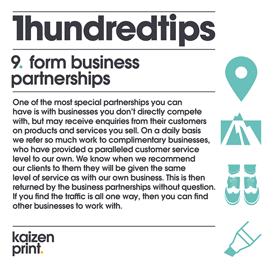 form business partnerships