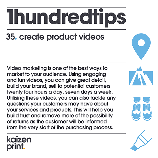 create product videos