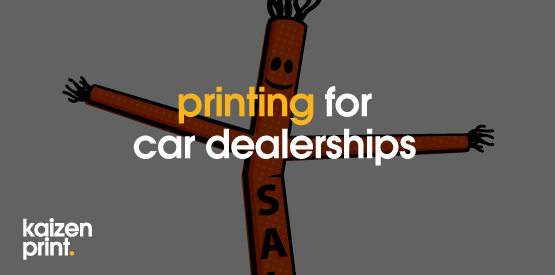 printing for car dealerships
