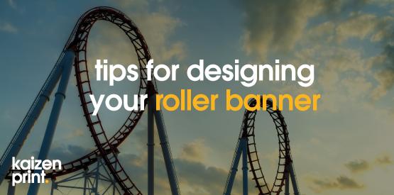 designing a roller banner