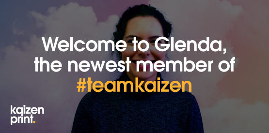 Welcome to #teamkaizen Glenda