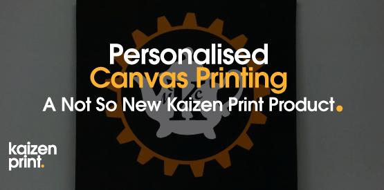 Personalised Canvas Printing