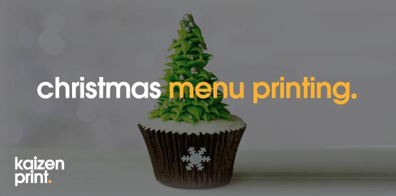 Christmas Menu Printing