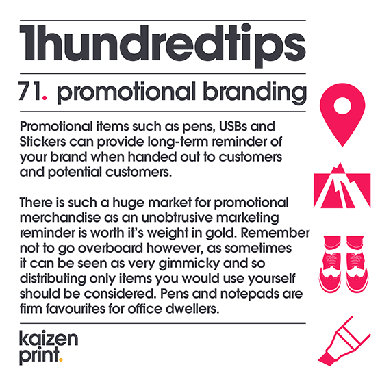 promotional branding