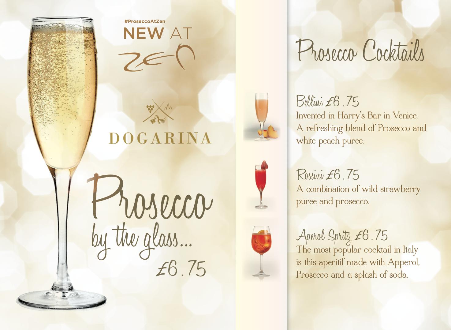 Drinks Menu Design and Print