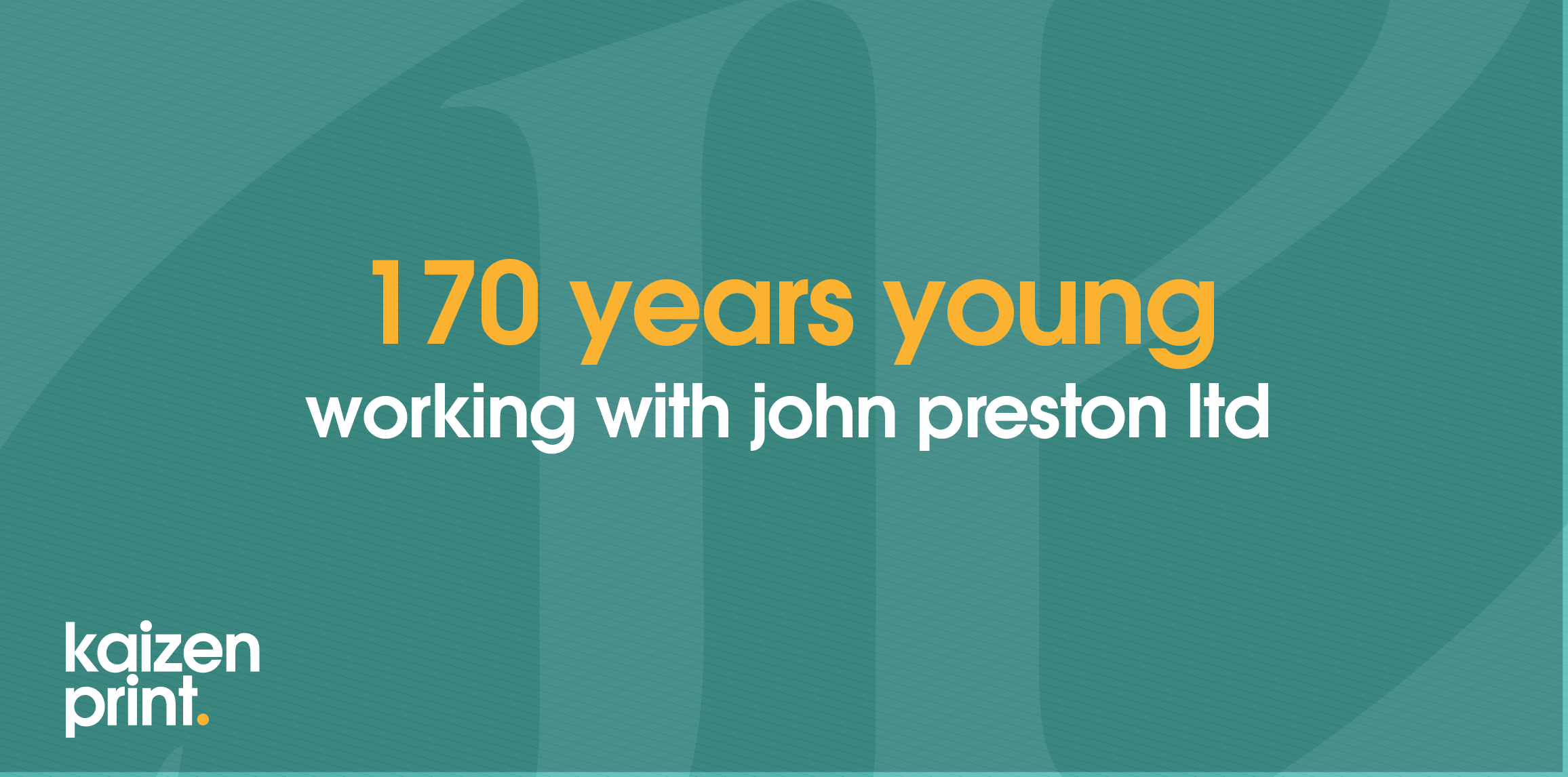 John Preston - 170 Years Old