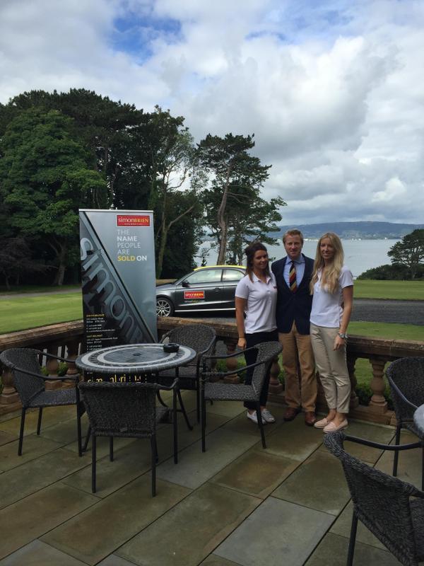 Roller Banner for Belfast Golf Day