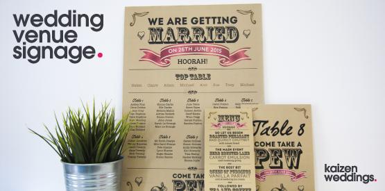 Wedding Venue Signage