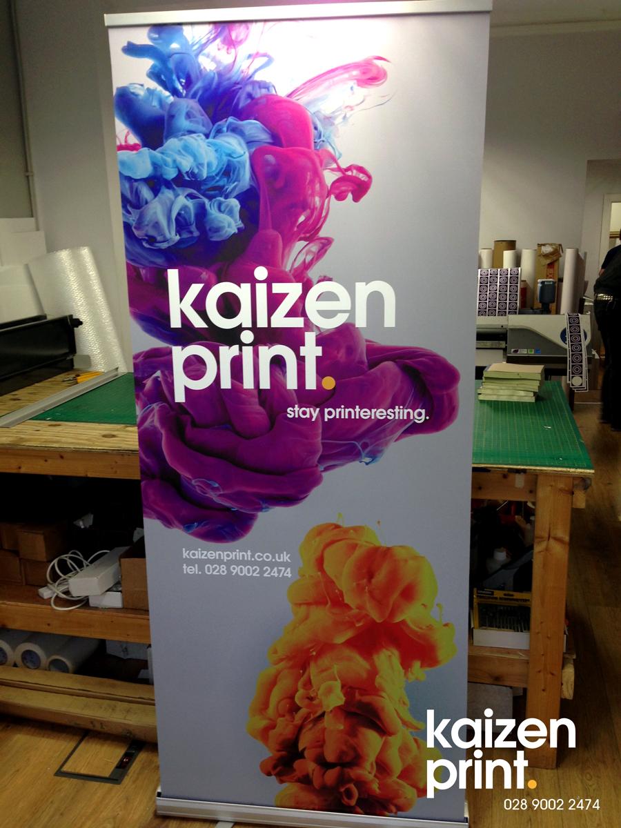 Roller banner Printing Belfast