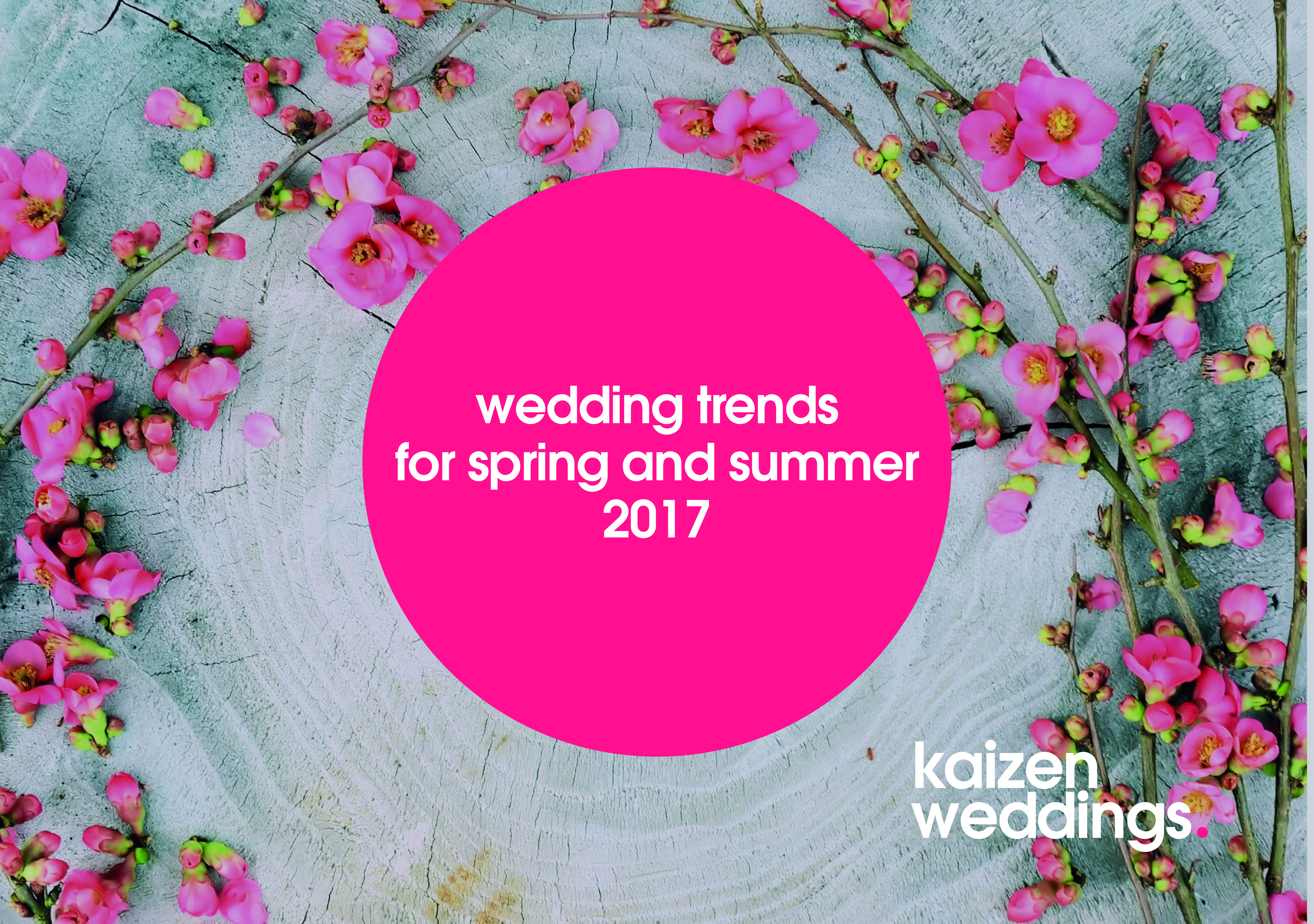 Wedding Trends for Spring and Summer 2017