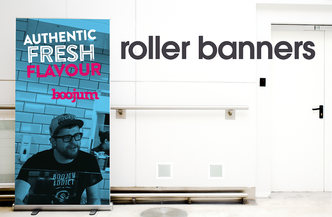 5 reasons you need a roller banner