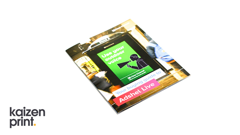 Clear Channel Brochure Printing - Kaizen Print