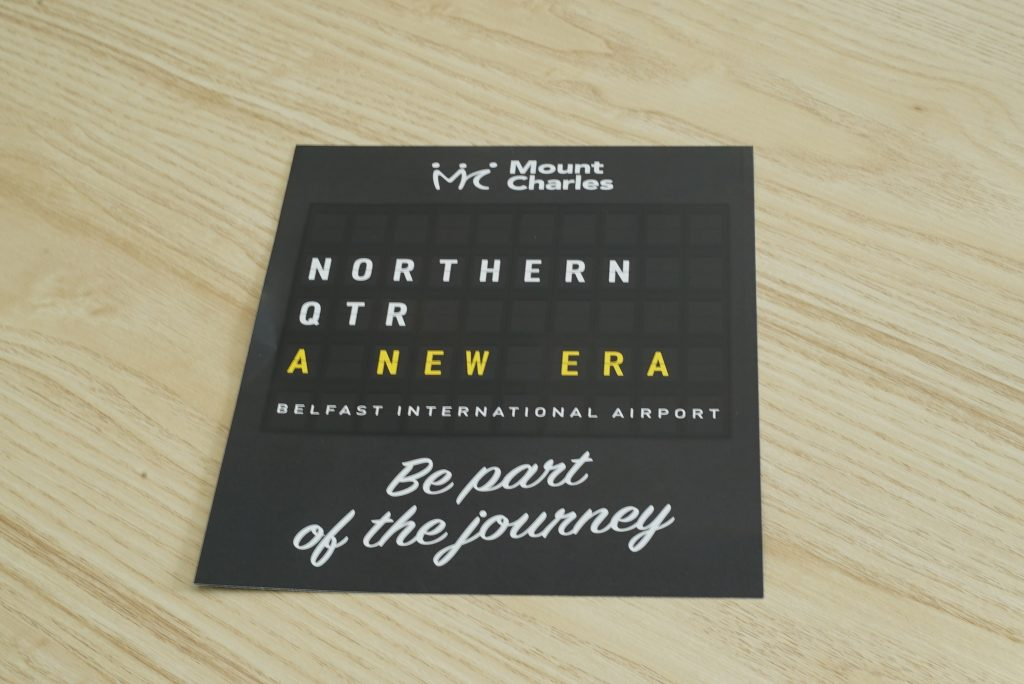 Mount Charles Flyer - Leaflet and Flyer Printing - Kaizen Print - Belfast Printing