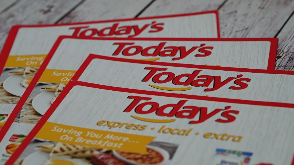 A4 Flyer Printing - Today's Today - Leaflet & Flyer Printing - Kaizen Print - Belfast Printing