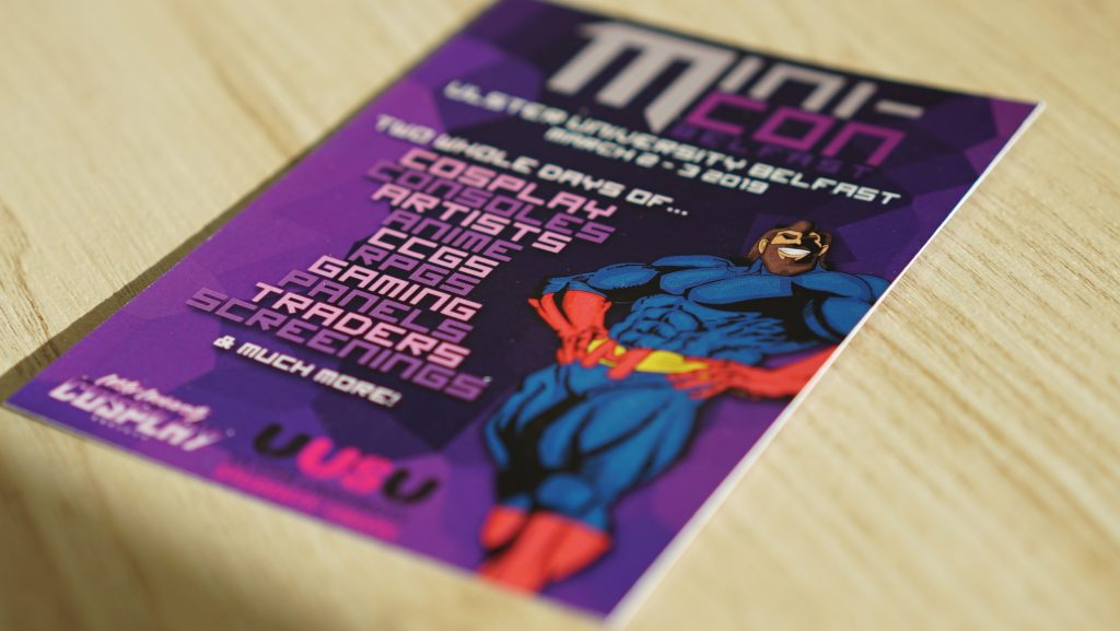 A7 Flyer Printing by Kaizen Print, Belfast, for UUSU Mini-Con