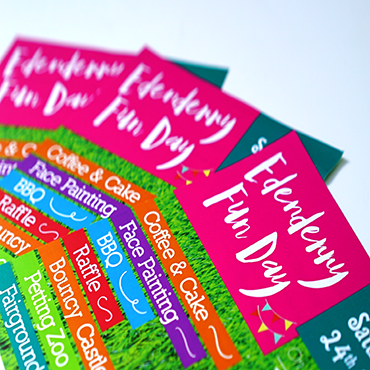Enderry Fun Day - A5 Flyer - Leaflet and Flyer Printing - Belfast Printing - Kaizen Print