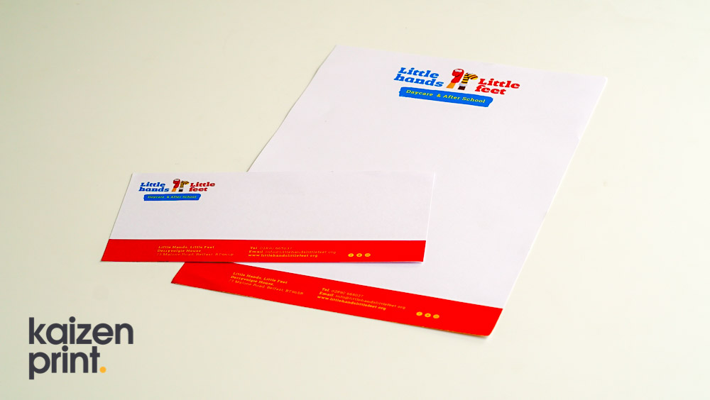 Letterhead Printing - Day Care and Nursery