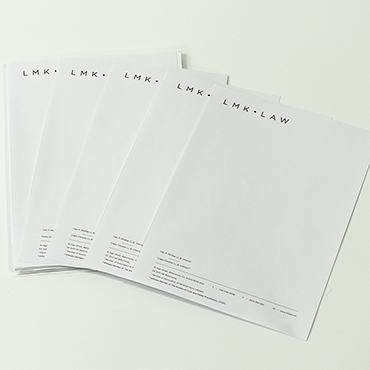 A4 Letterheads - Solicitors