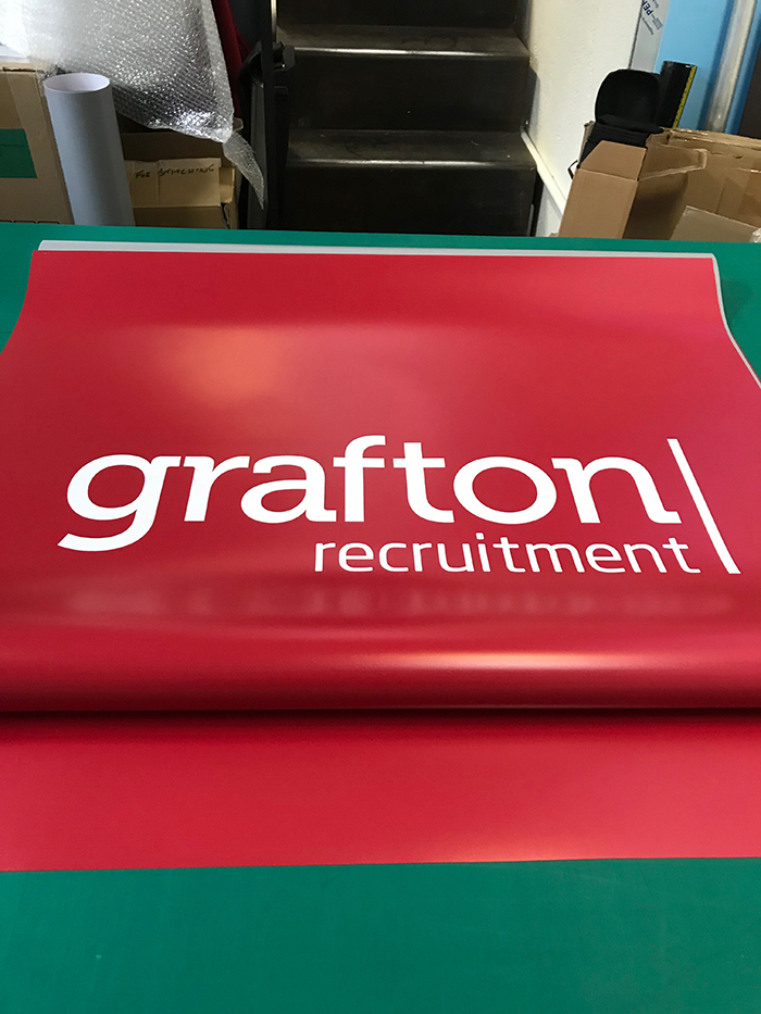 Grafton Recruitment Roll Up Banner