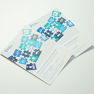 Southern Cross Dental - A5 Flyers - Leaflet and Flyer Design - Belfast Printing - Kaizen Print