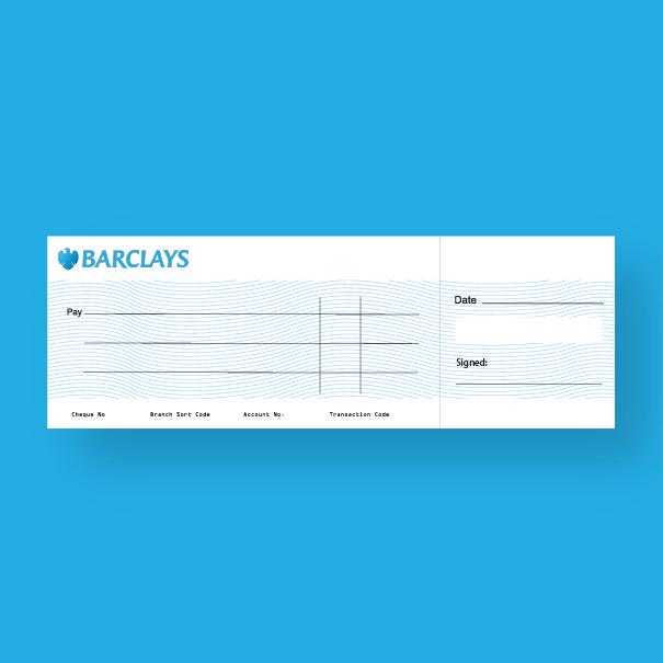 presentation cheque / kaizen print Belfast