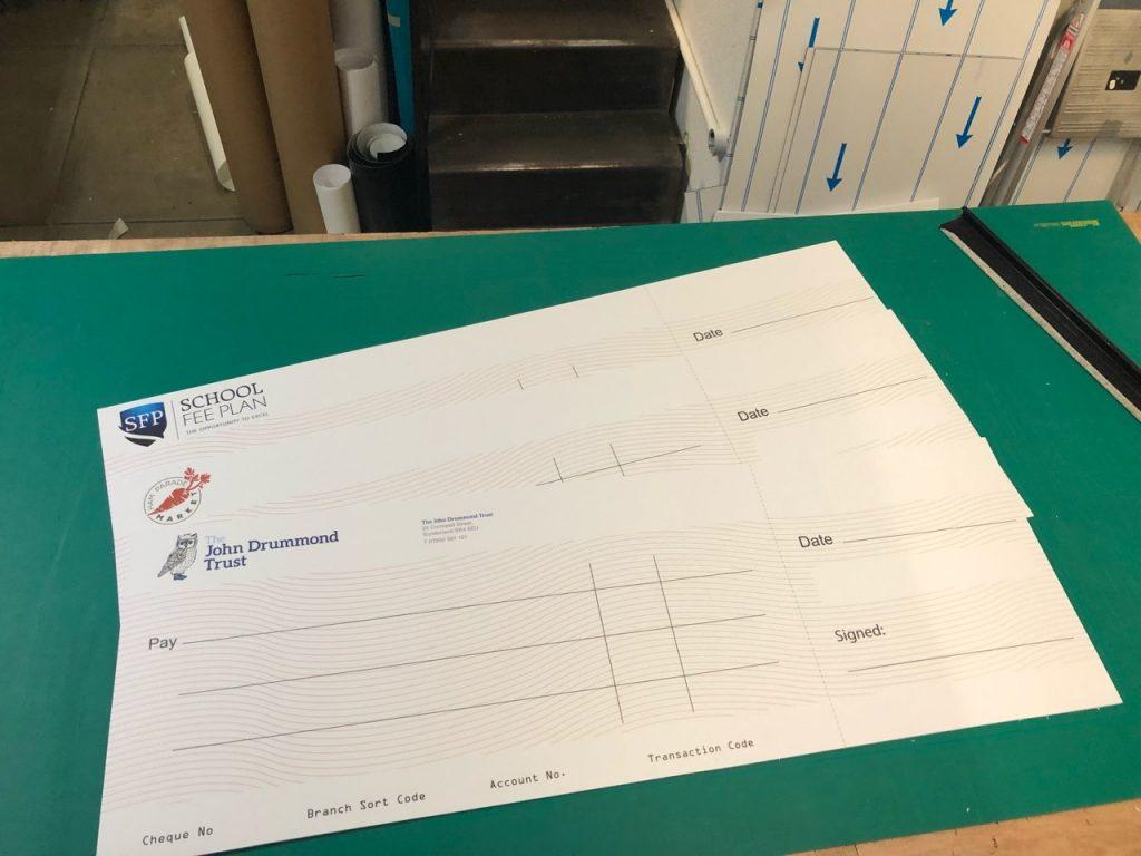 Presentation Cheque Printing - Kaizen Print