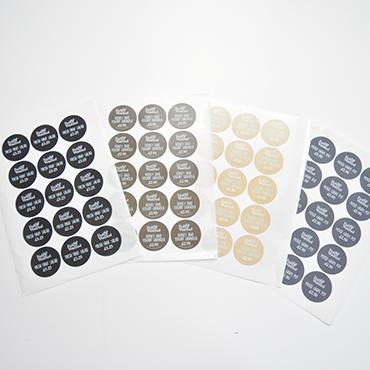 Sticker printing Belfast. Kaizen Print