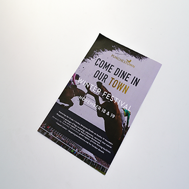 A2 Poster - Punchestown - Large Format Poster Printing - Belfast Printing - Kaizen Print