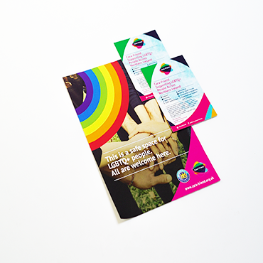 A2 Poster - LGBTQ+ - Large Format Poster Printing - Belfast Printing - Kaizen Print