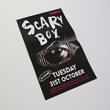 A2 Posters - Scary Box - Large Format Poster Printing - Belfast Printing - Kaizen Print
