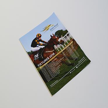 A3 Poster - Down Royal - Large Format Poster Printing - Belfast Printing - Kaizen Print