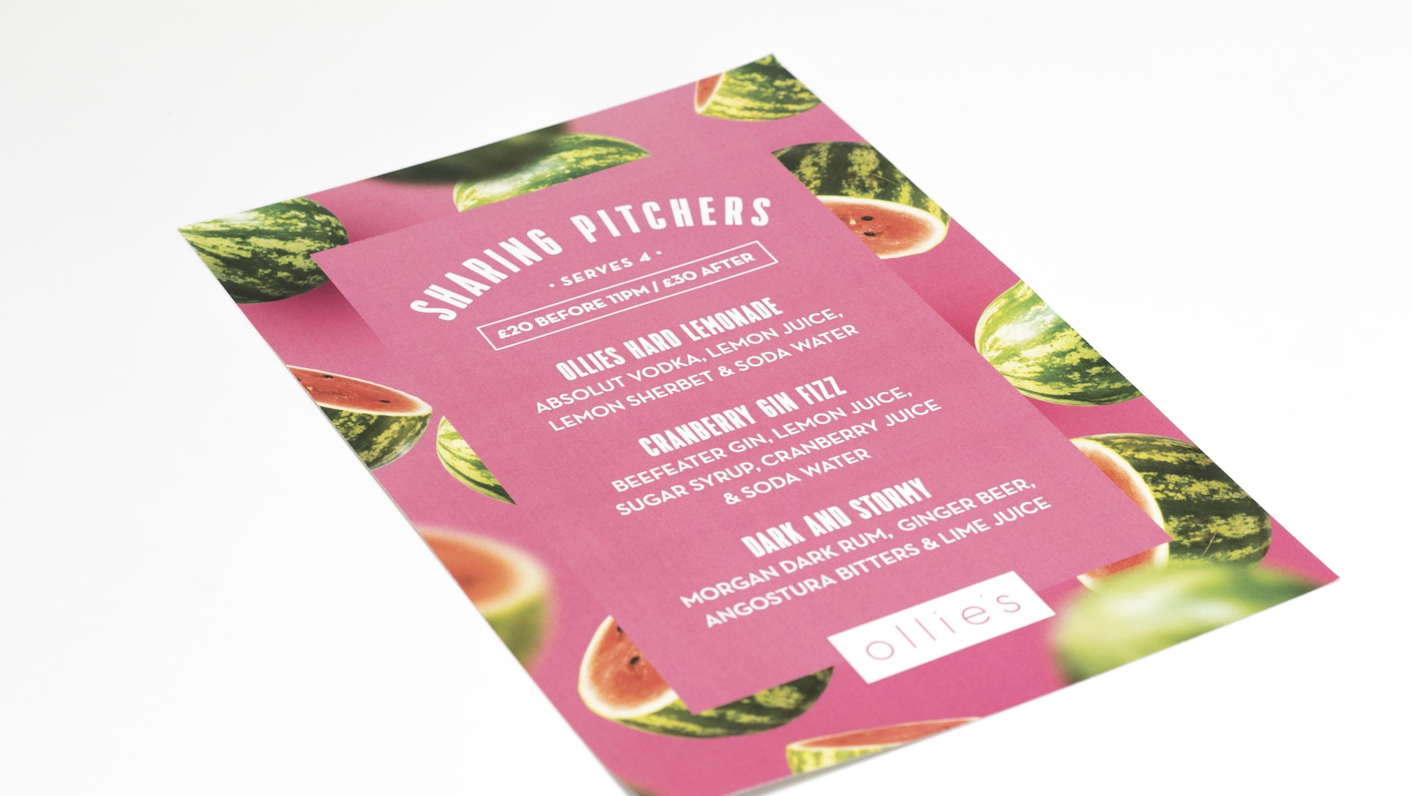 A3 Poster - Ollies - Large Format Poster Printing - Belfast Printing - Kaizen Print