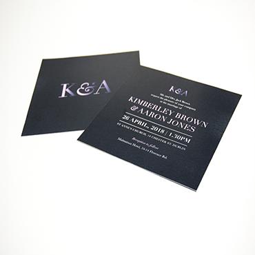 Kimberly and Aaron - Wedding Invites - Bespoke Wedding Stationery - Belfast Printing - Kaizen Weddings