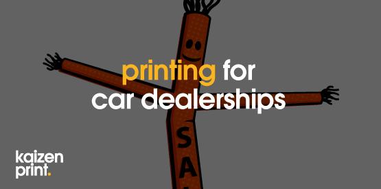 kaizenprint.co.uk - printing window hangers for car dealerships