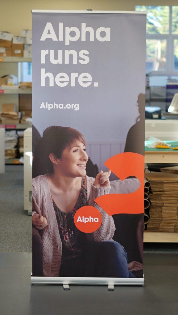 Alpha Roller Banners - Roller Banner Printing - Kaizen Print - Belfast Printing