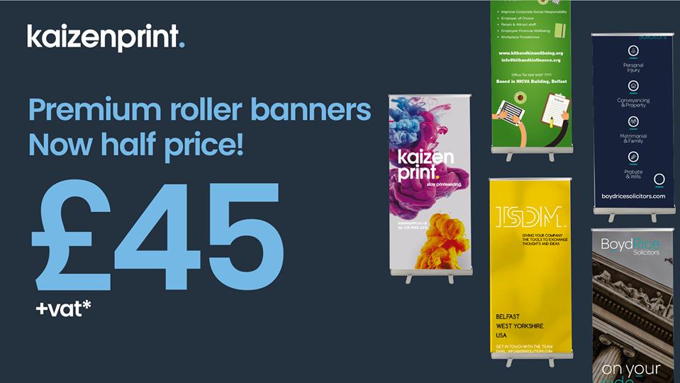 roller banner offer - kaizen print