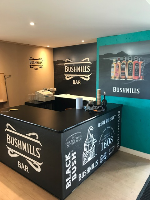 Down Royal Wall Graphics Bushmills