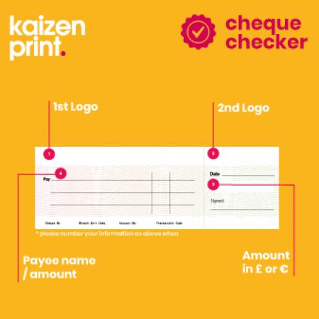 presentation cheque | Kaizen Print