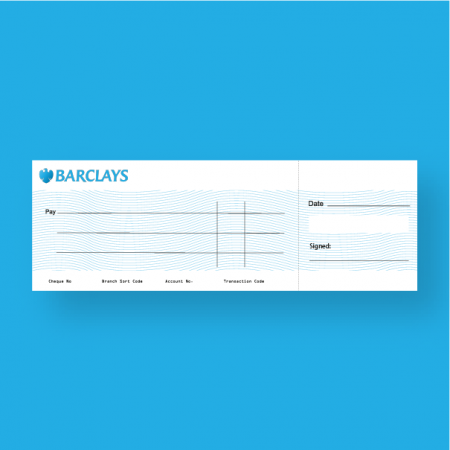 large presentation cheque | Kaizen Print