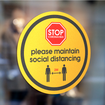 Social Distancing Print Material