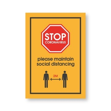 outdoor social distancing - outdoor posters