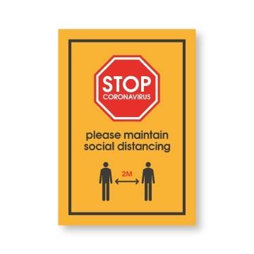 Social Distancing Posters - Kaizen Print