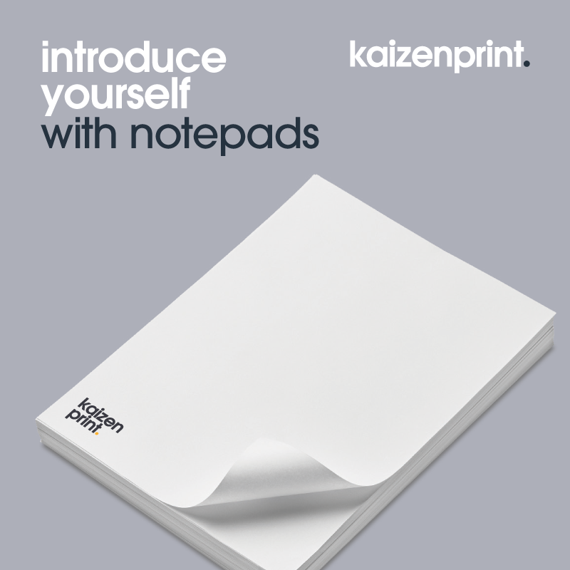 Notepad Printing | Kaizen Print