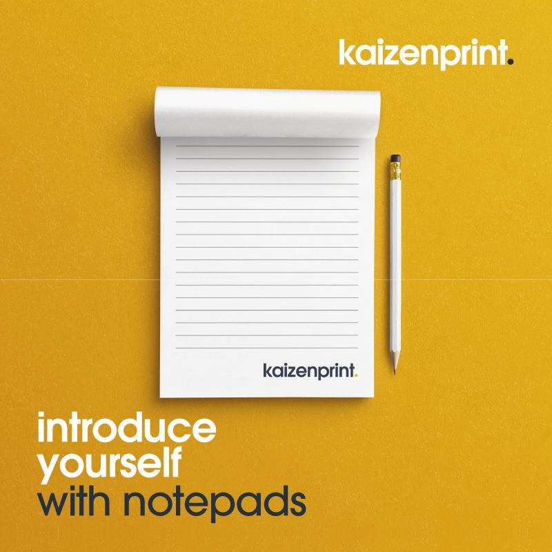Printed Notepads - Kaizen Print