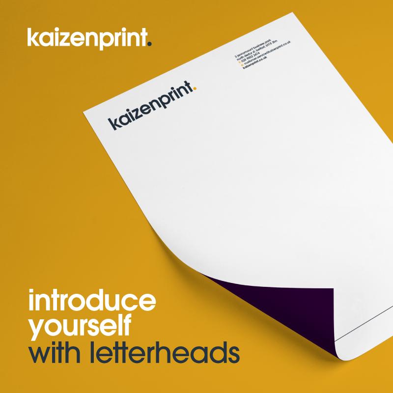 letterheads | kaizen print
