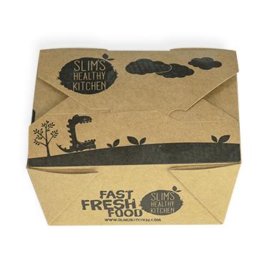 Slims Kitchen Packaging