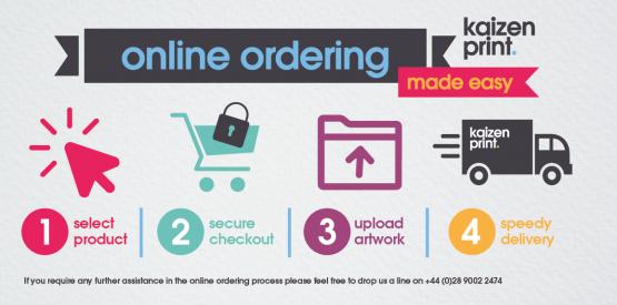 Kaizen print ordering