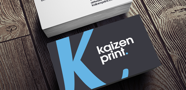 Business card printing design kaizen print business cards reheart Gallery
