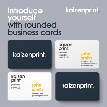 Rounded Corner Business Cards - Online Printing Services