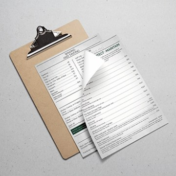A4 Folded Price Lists - Online Printing Services